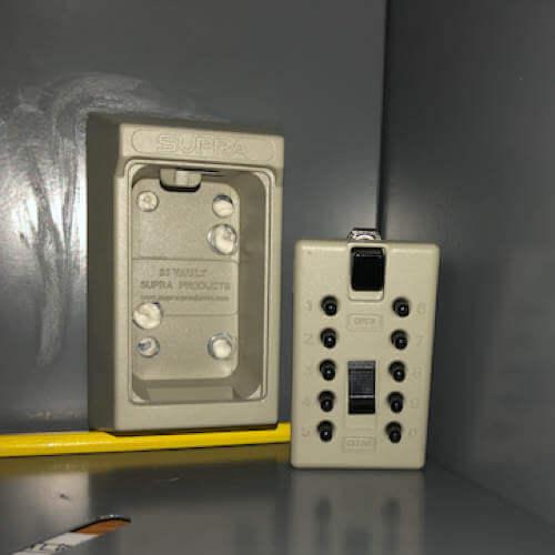 MILKBOX_S5KLEB,coffre à clés mural - coffre à clés à code