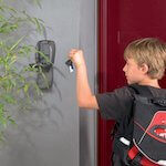 Masterlock coffre à clés : MLK5415 - fixé à un mur