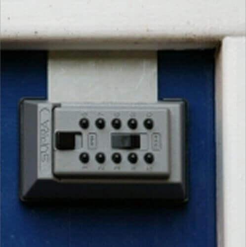 SUPRAJ5,coffre à clés mural - boîte à lait