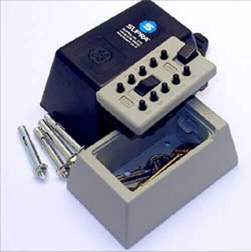 SUPRAS5,coffre à clés - boîte à lait