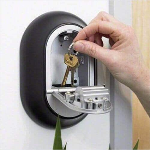Y500,boîte à clés à code - coffre à clés