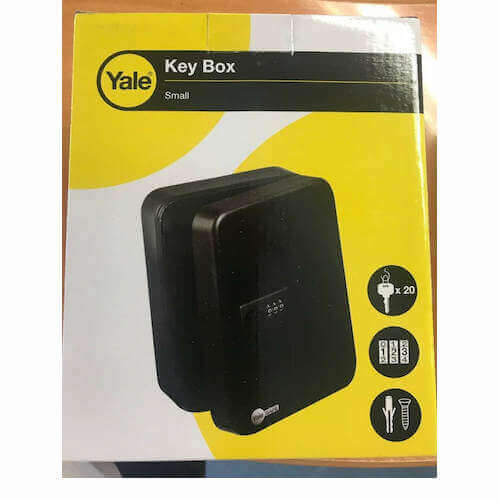 YKC20 - boîte aux lettres - boîte à clés à code
